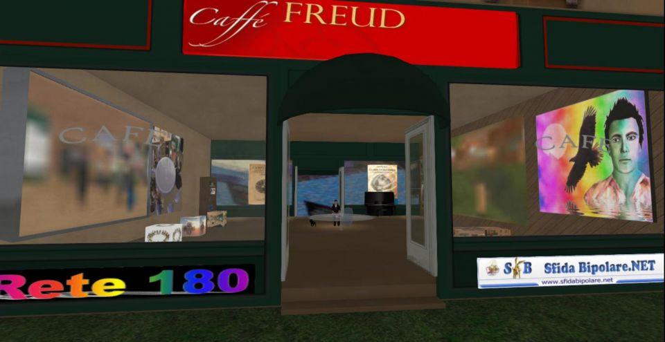 ArteMente, Caffè Freud, in Second Life<br />http://maps.secondlife.com/secondlife/Aloha%20Honu/17/36/22